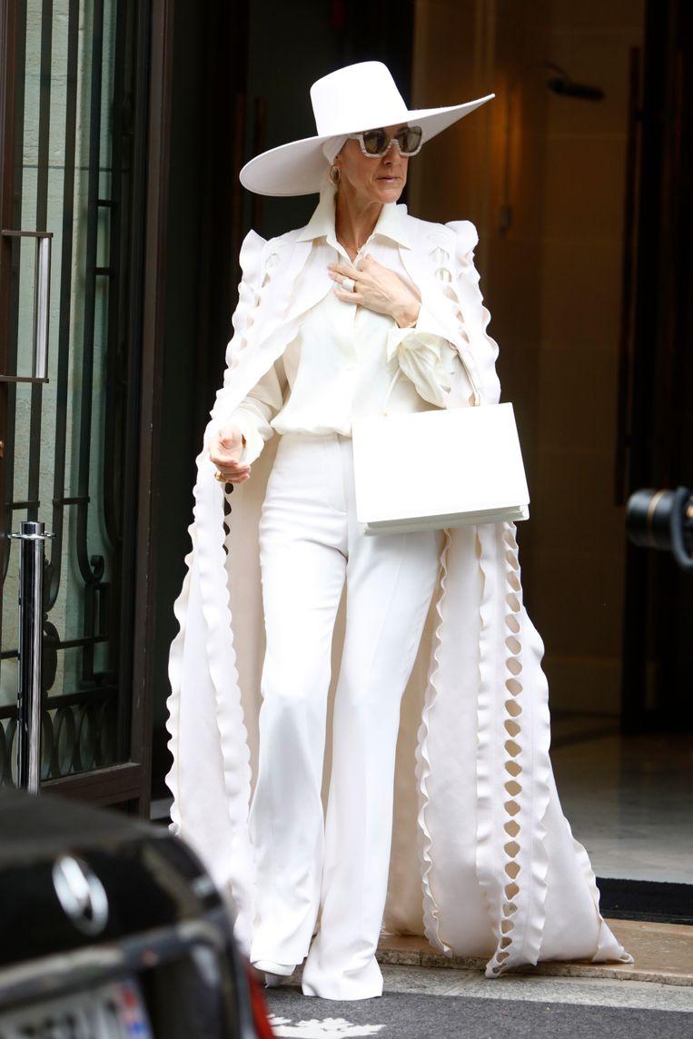 Celine Dion in 2017.  Beeld Getty