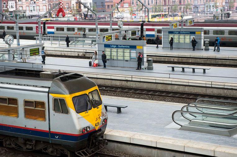 Van een vlotte samenwerking tussen de verschillende vervoersmaatschappijen is in België geen sprake. Beeld BELGA