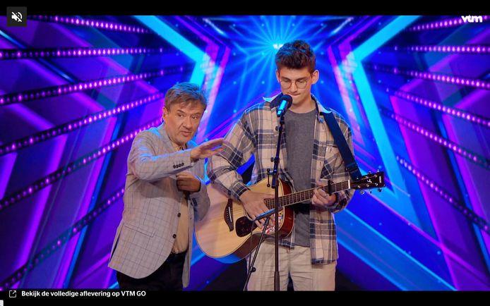 Auditie in 'Belgium's Got Talent' loopt fout... Grote Bart Peeters-fan Arthur krijg black-out.