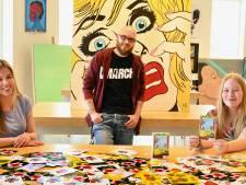 Leerlingen Cambium College steunen ouderen met kunstzinnige kaarten