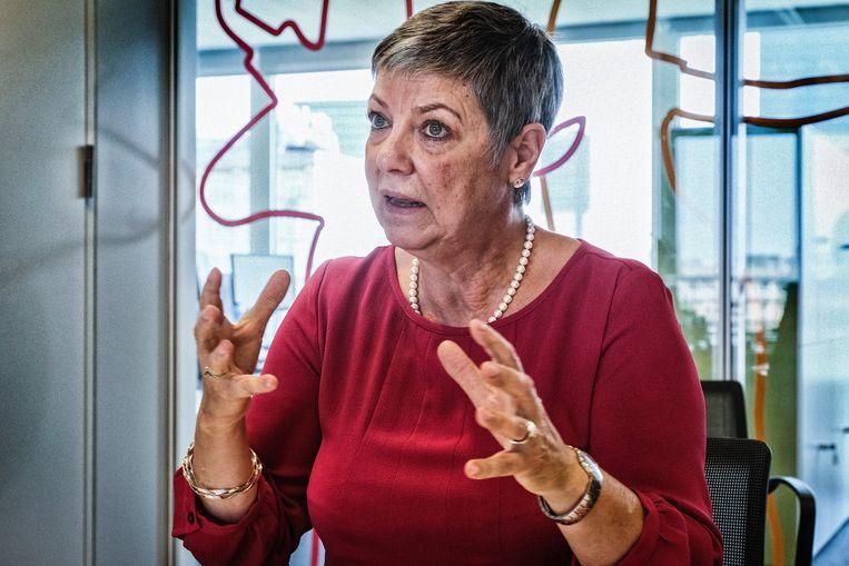 Raymonda Verdyck, bestuurder van het Gemeenschapsonderwijs (GO!), legt de nadruk op burgerschap. Beeld Tim Dirven