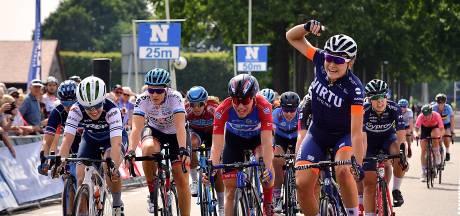 Op de dag dat je idool  Marianne Vos toeslaat in La Course zelf winnen: 'Marianne inspireert'