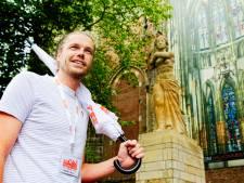 Stadsgids Justus (32) mag eindelijk weer op pad: 'Zelfs Utrechter hoort nieuwe dingen bij rondwandeling'