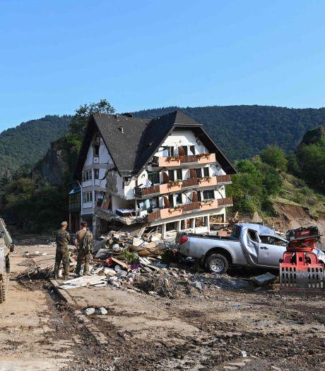 Le bilan des inondations s'alourdit à 180 morts en Allemagne