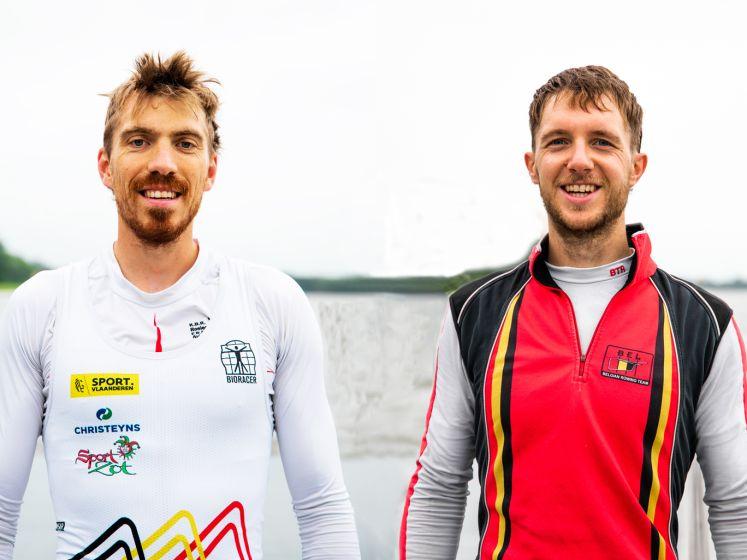 """Roeiers Niels Van Zandweghe en Tim Brys gaan voor medaille: """"Uzelf smijten, dat moet hé als je wil winnen"""""""