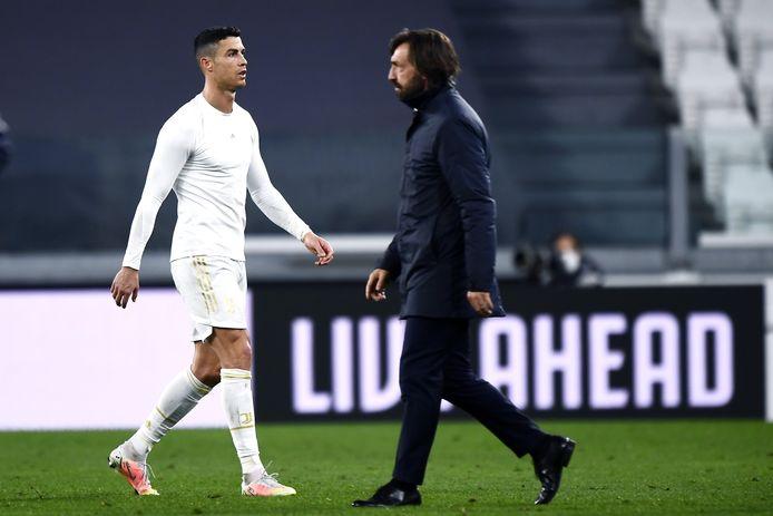 Pirlo en Ronaldo.
