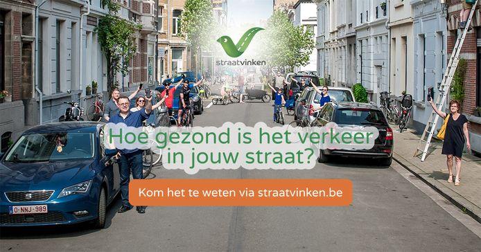 Straatvinken, dat is gedurende een uurtje tellen hoeveel voetgangers, fietsers en voertuigen in jouw straat passeren.