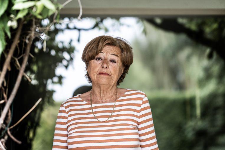 Grietje Devulder: 'Ik had mijn sterke man nog nooit ziek gezien.' Beeld Bob Van Mol