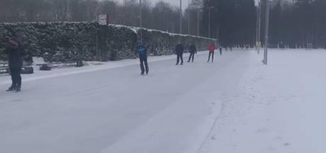 Oosterbeekse ijsclub maakt het waar: er kan al worden geschaatst op Hartenstein