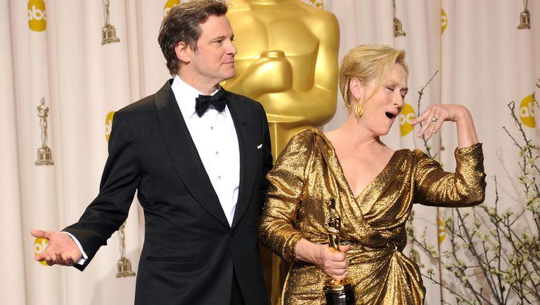 Meryl Streep bewijst waarom ze die Oscar heeft verdiend. Beeld GETTY