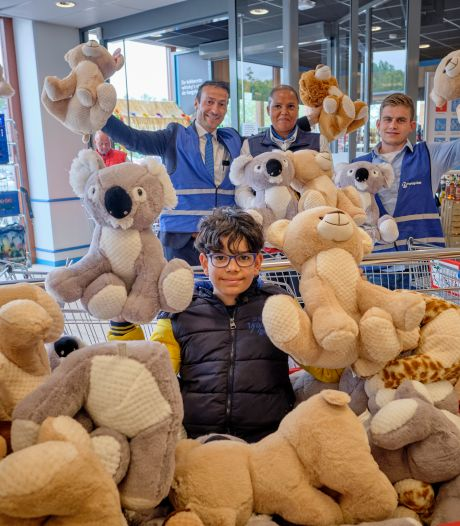 10-jarige Quint zamelt 200 knuffels in voor mensen met verstandelijke beperking