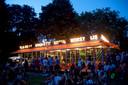 Het T Huis in park Valkenberg is met name op zonnige dagen en lange zomeravonden een populaire horecaplek in de binnenstad.