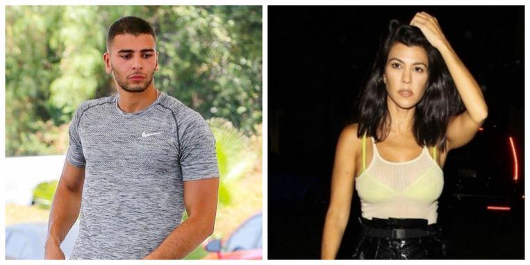 Younes Bendjima en Kourtney Kardashian.