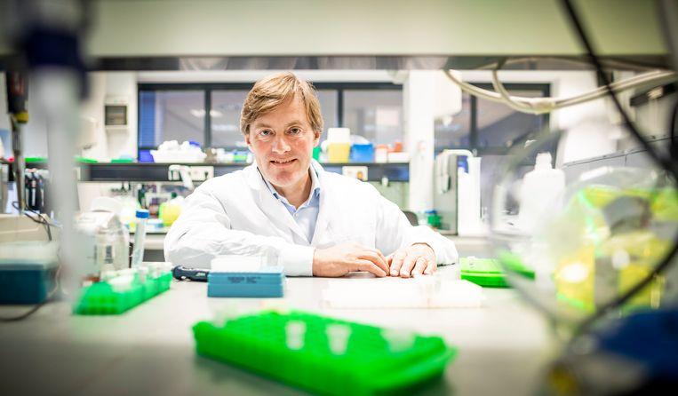 Aarnoud Overkamp, topman van farmaceut Takeda Nederland. Beeld Freek van den Bergh