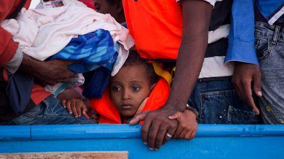 Italiaanse kustwacht redt 6.500 migranten uit Middellandse Zee