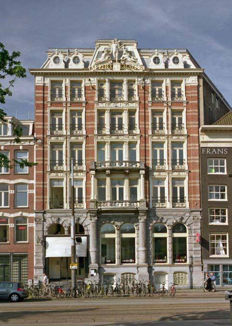 Het Mercuriusgebouw aan de Prins Hendrikkade. Foto ANP Beeld