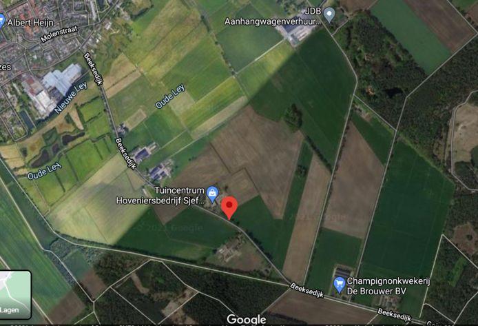 Aan de Beeksedijk is een zonnepark gepland.