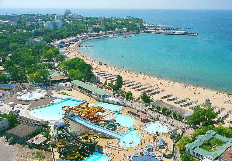 Jevgeni Bogatsjov investeert zijn gestolen miljoenen onder meer in vastgoed inde Russische regio Anapa aan de Zwarte Zee. Beeld