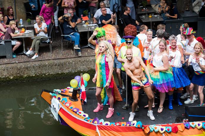 In 2017 werd de eerste editie van de Canal Pride in Utrecht gehouden.