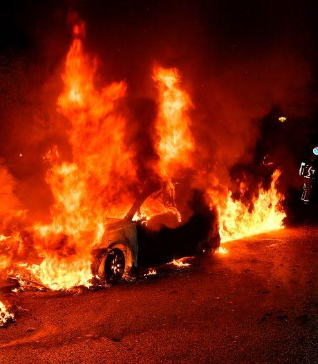Auto's verwoest door brand in Valkenswaard