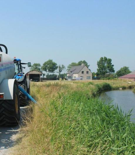 Interdiction de puiser l'eau dans le Limbourg, réunion d'évaluation mercredi en Wallonie