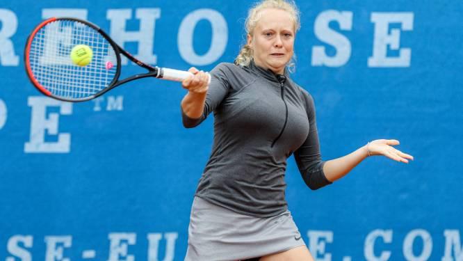 Na zeven maanden opnieuw ITF-tennis voor Eliessa Vanlangendonck