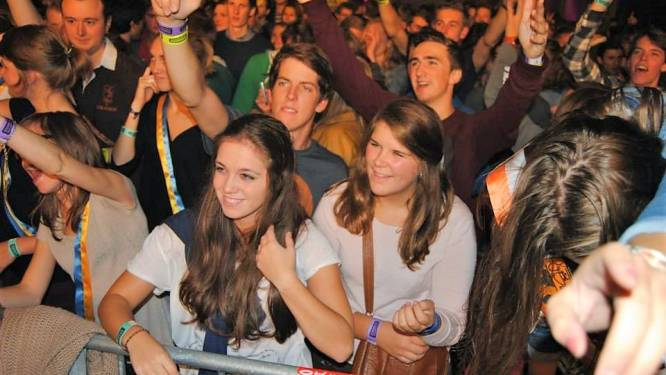 Studentenfuif Vives La Fête mikt op 2.000 feestvierders
