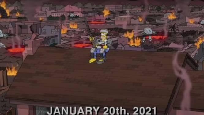Hopelijk komt deze voorspelling van 'The Simpsons' voor 2021 niét uit