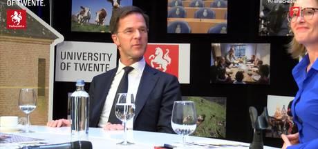 Rutte in verlegenheid gebracht tijdens debat in Twente