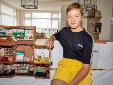 Wouter (13) knutselt al anderhalf jaar aan zijn eigen versie van het 'Muizenhuis'