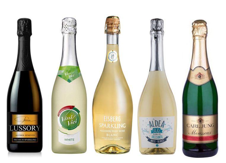 Bubbels zonder alcohol Beeld de Volkskrant