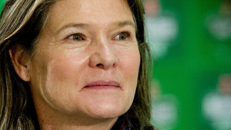 Charlene de Carvalho-Heineken is juist een goed verdienende vrouw, de grootaandeelhouder van Heineken is zelfs een van de rijkste vrouwen ter wereld. Beeld anp