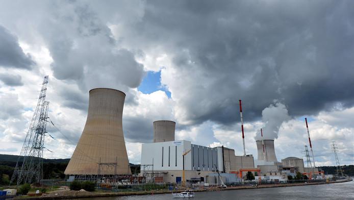 De Belgische kerncentrale Doel in Tihange