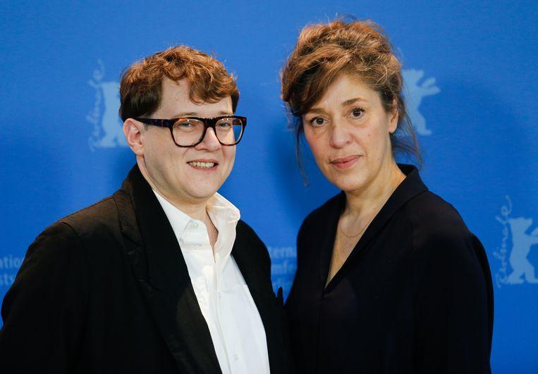 Regisseur Ilya Khrzhanovskiy en coregisseur Jekaterina Oertel. Beeld NurPhoto via Getty Images