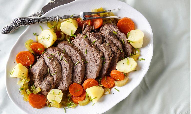 Tafelspitz: perfect gepocheerd vlees!