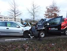 Frontale botsing op Provinciale Weg in Lieshout