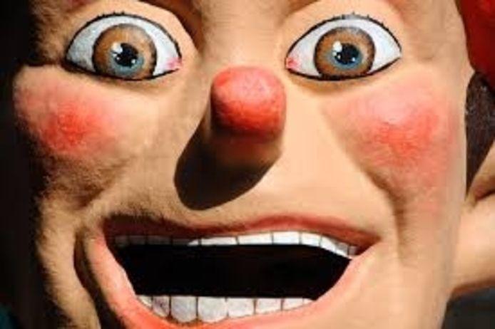 Een clown.