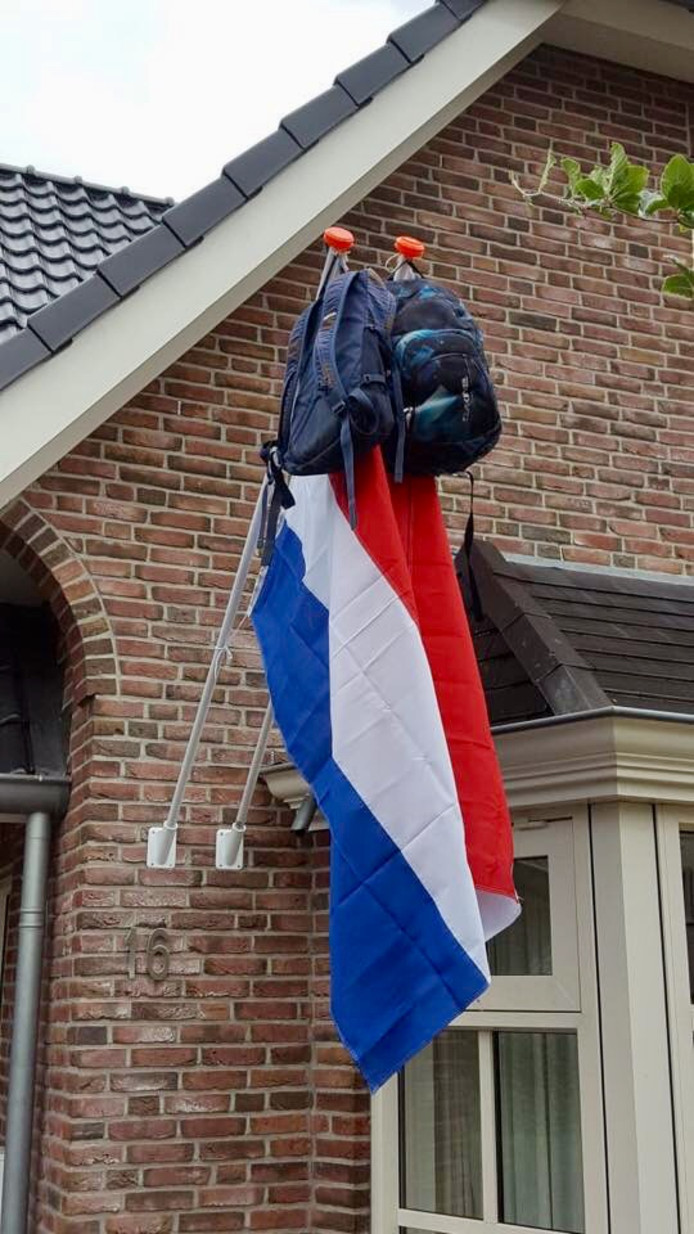 vlaggen Olde Engberink Fleringen