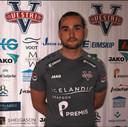 Steven van Dijk in het shirt van Vestri, de club op IJsland waar hij keept.