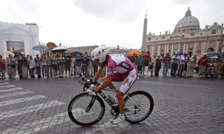 De Italiaanse wielrenner Danilo di Luca. Foto EPA Beeld