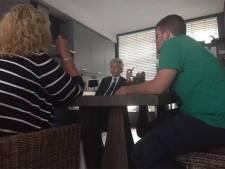 Geert Wilders brengt verrassingsbezoek aan Maassluis