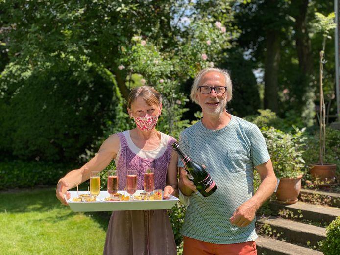 Georges Billemont en Hilde Van Houten van Villa Emma.