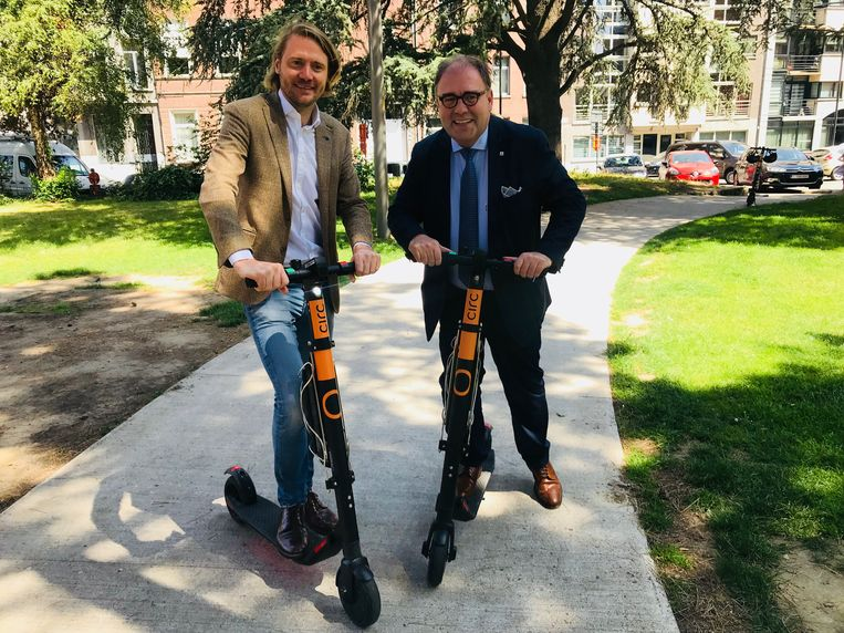 Jean-Jacques De Gucht en Christoph D'Haese op deelsteps.