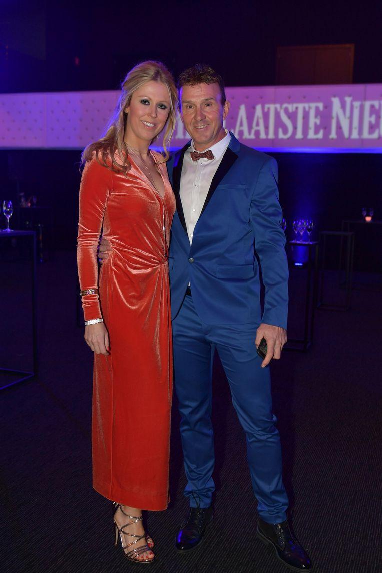 Johan Museeuw met Josephine van Steenbrugghe.