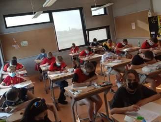 Zelfs examens maken kan als supporter voor de Rode Duivels