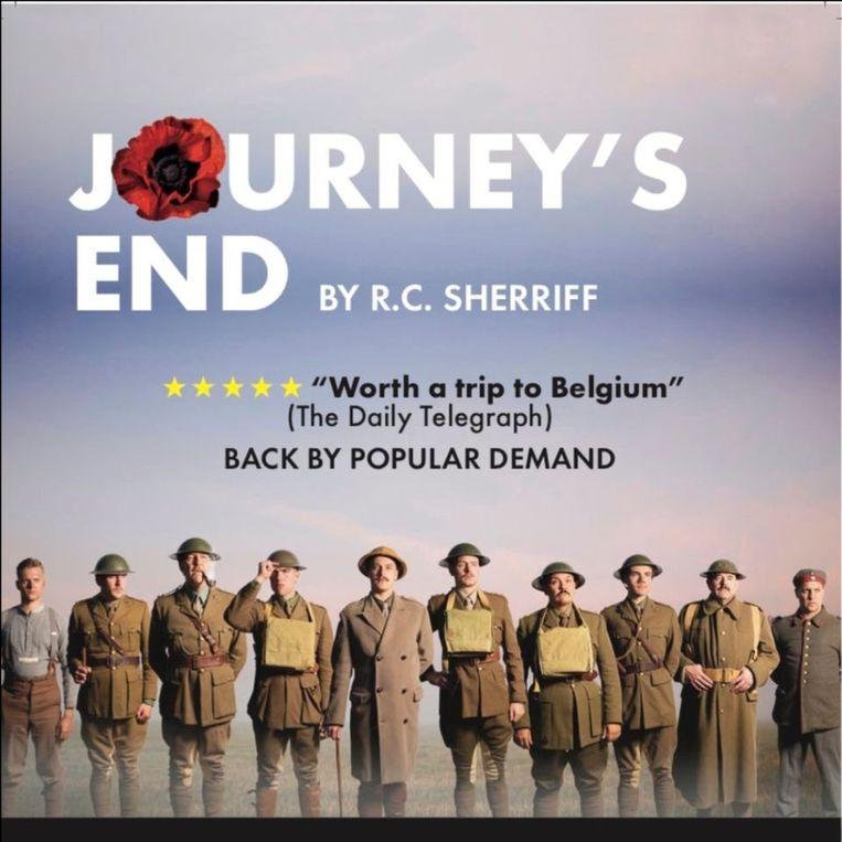 Theaterproductie Journey's End strijkt neer in Poperinge