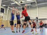 Volleyballers van AVC'87 winnen zelfs als ze dramatisch spelen
