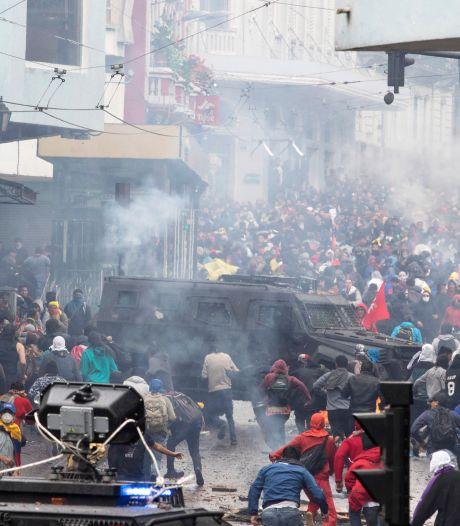 Rellen en noodtoestand in Ecuador na verhoging brandstofprijs