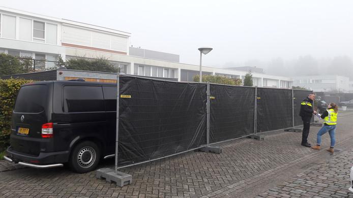 Een van de panden in Tilburg die onderzocht wordt.