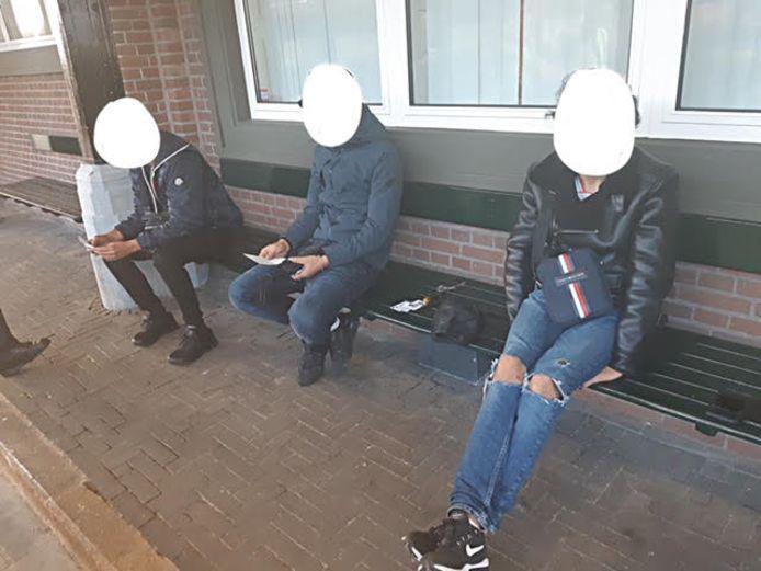 De verdachten werden op Amersfoort Centraal aangehouden.